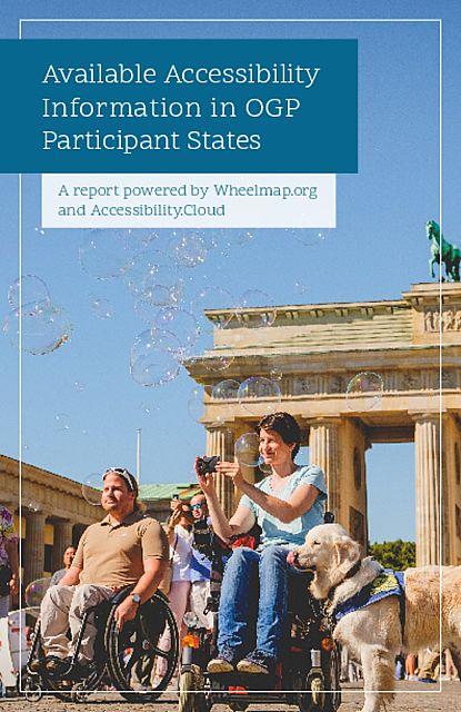 Informationen zur Zugänglichkeit in Open Government Partnership Teilnehmerstaaten