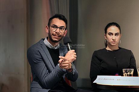 Podiumsdiskussion junger Roma und Sinti 2019